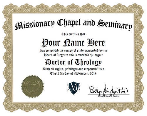 Doctor of Theology