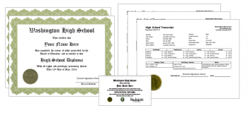 Home School Document Package